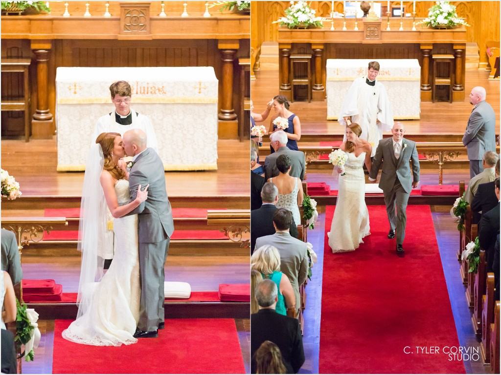 Farmington County Club Wedding Christ Episcopal Ceremony