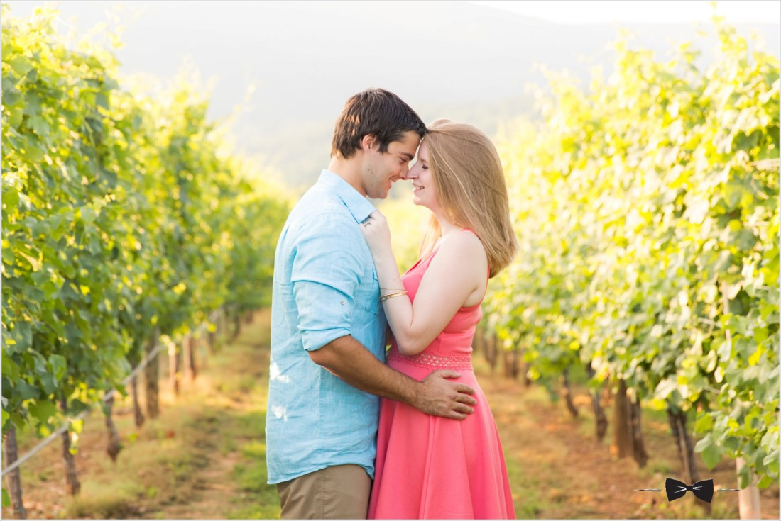 King Family Vineyards Engagement Session
