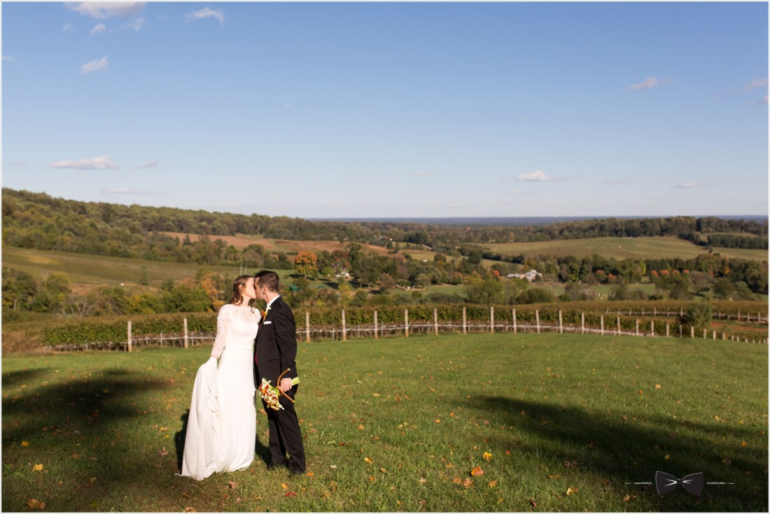 Trump Winery Grand Hall Wedding Fall